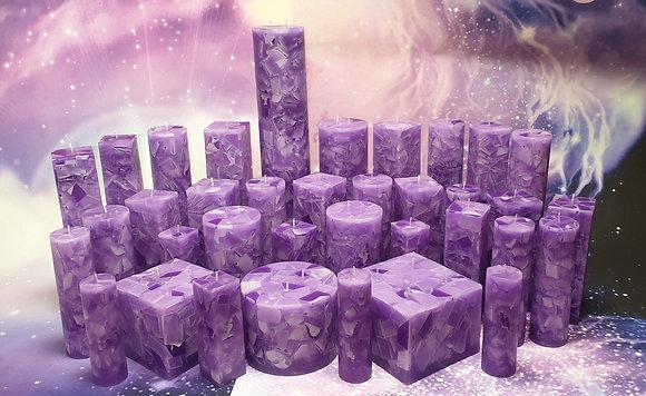 Svíce Violet 16x12