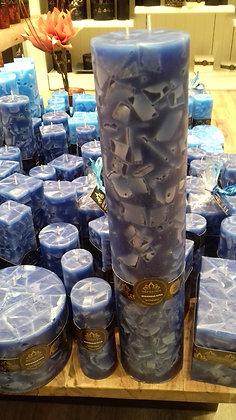 Svíce Blue Dark 10x50