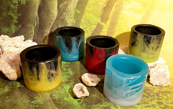 Váza / Květináč 13x11 cm - různé barvy