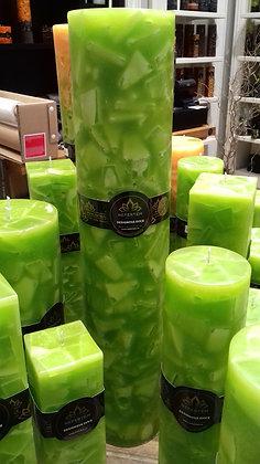 Svíce Jarní zelená 10x50