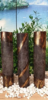 Váza Woodfinish 10x50 cm