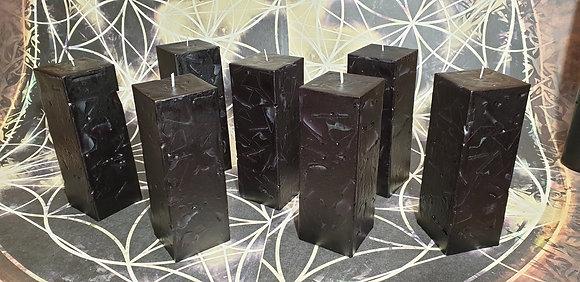 Svíce Černá 5x5x16