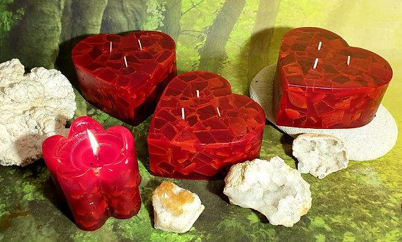 Svíce Srdce 16x7 Živel Ohně
