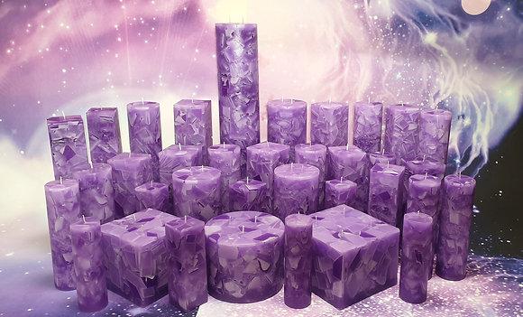 Svíce Violet 8x16