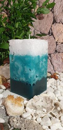 Ice Candle 11x11x19 cm