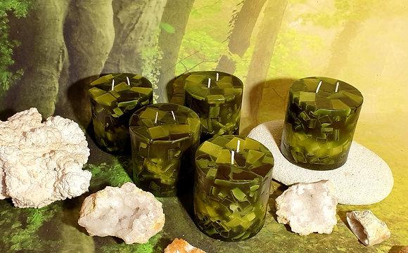 Svíce Mechově zelená 10x10