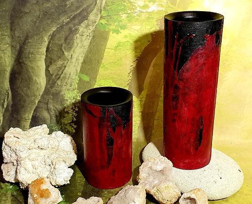 Váza / Květináč 10x19 cm - různé barvy