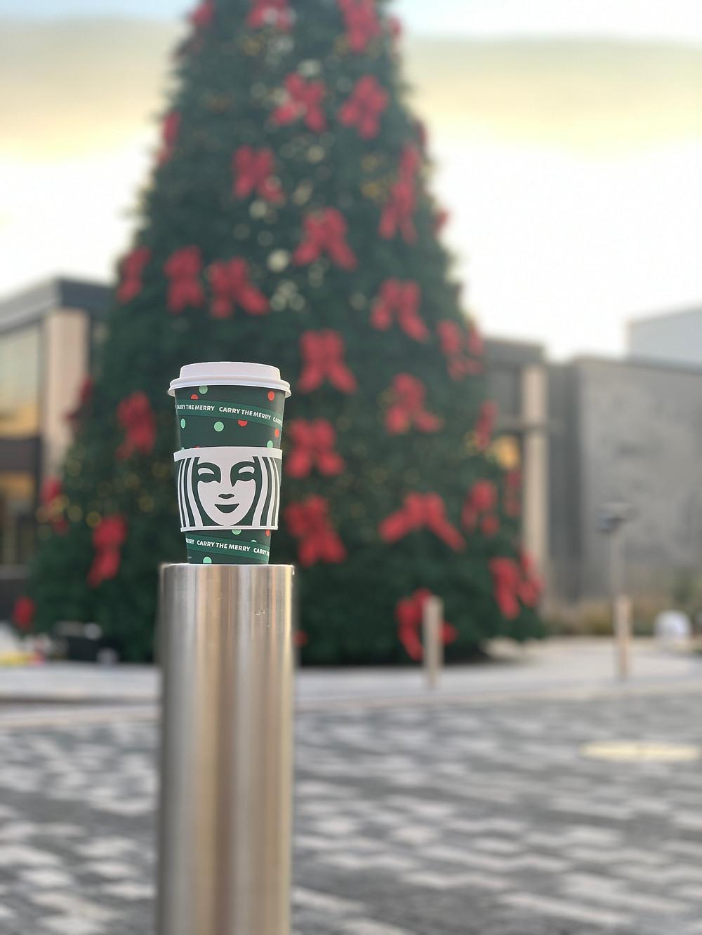 Starbucks holiday flavors for xmas season