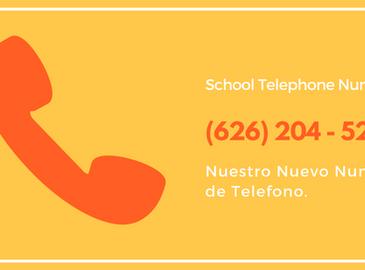 New School Telephone Number