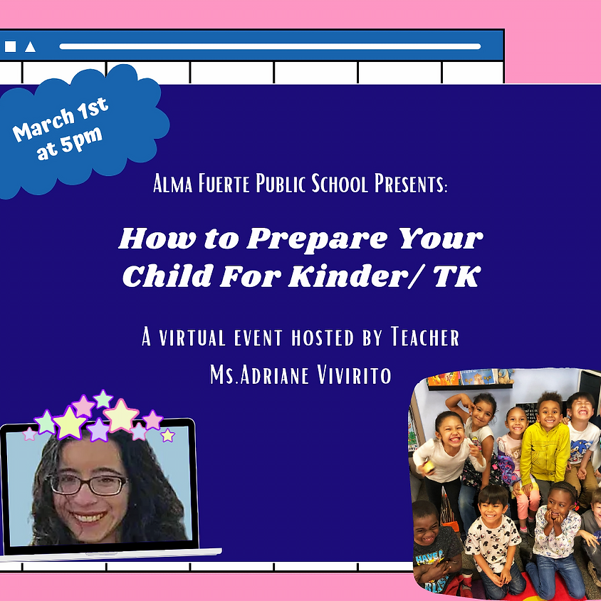 How to Prepare your Child for Kinder/ TK