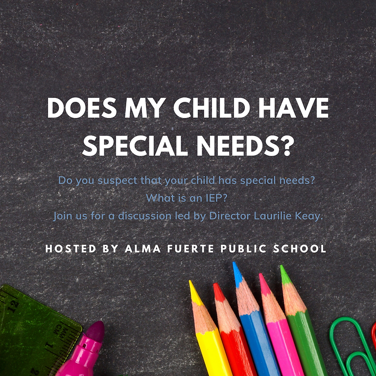 Does My Child Have Special Needs?