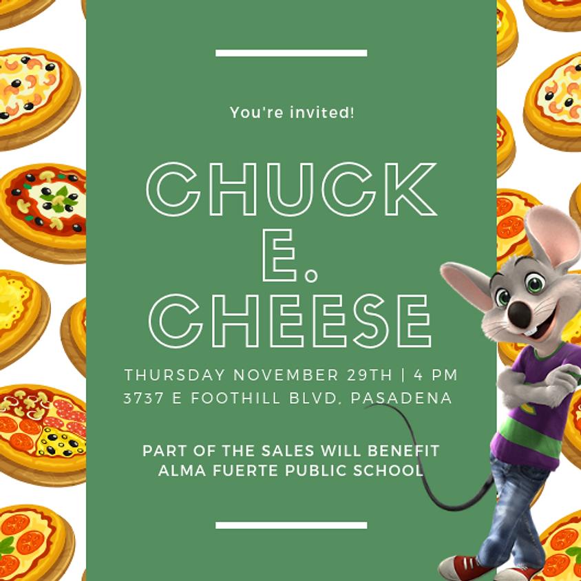 Alma Fuerte Night at Chuck E. Cheese!