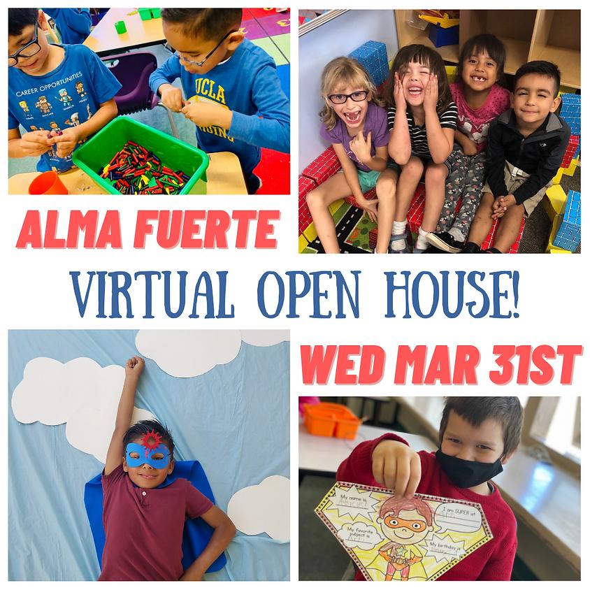 Alma Fuerte Public School Open House!