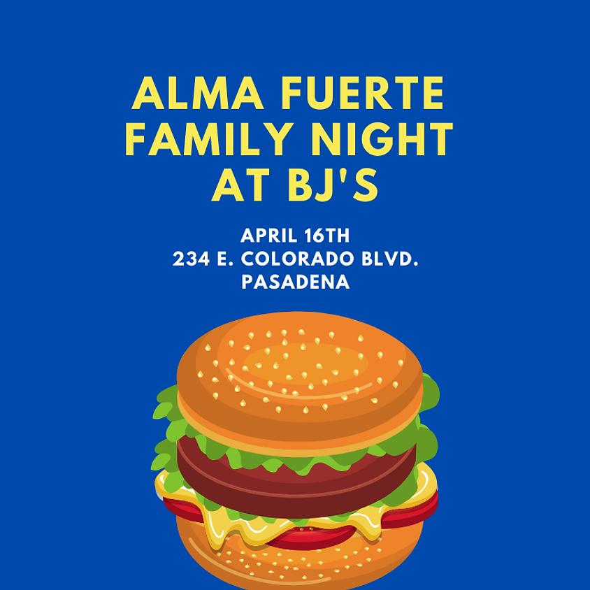 Alma Fuerte Family Night at BJ's