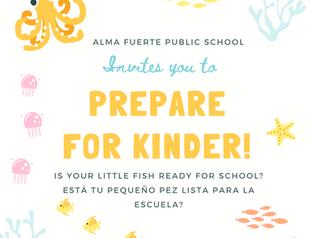 Prepare your Child for Kinder/ TK