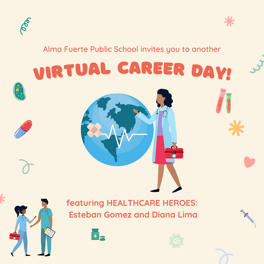 Virtual Career Day with Healthcare Heroes!