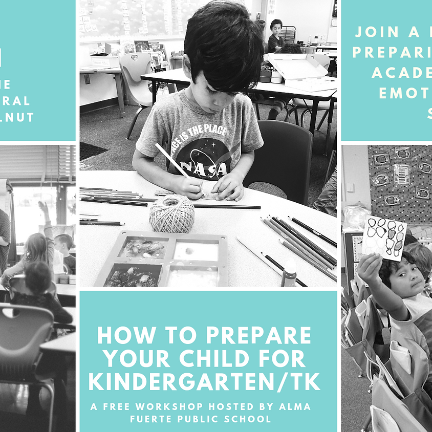 How to Prepare my Child for Kindergarten/ TK