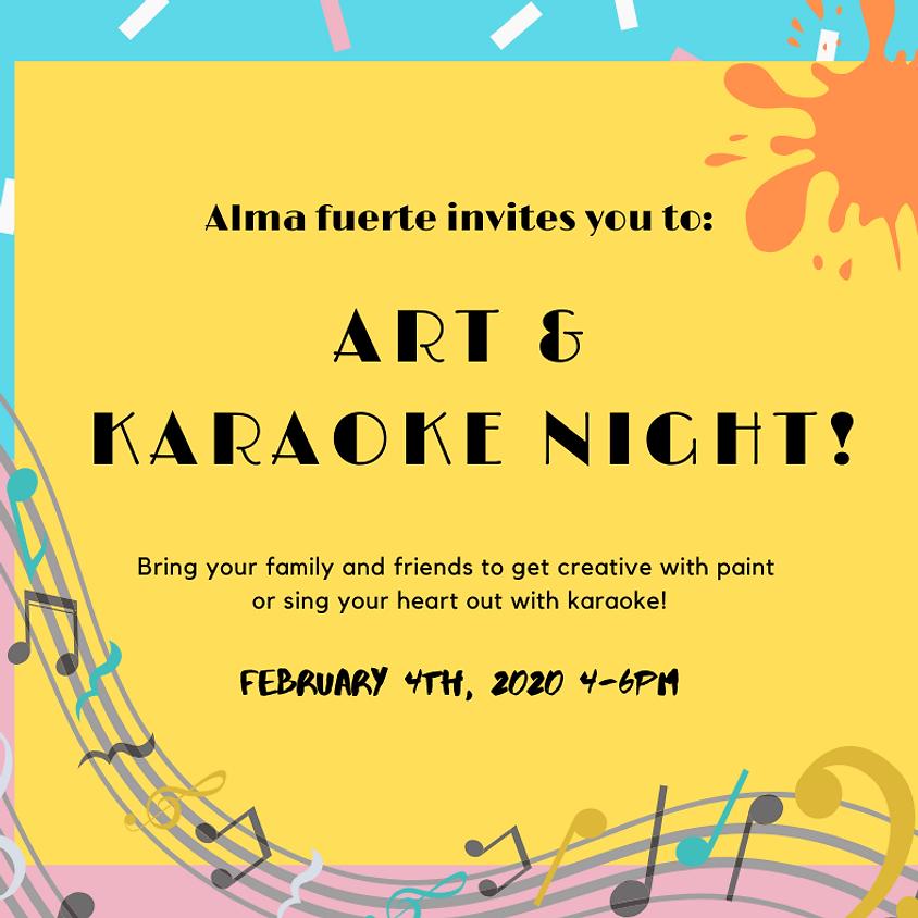 Art and Karaoke Night!