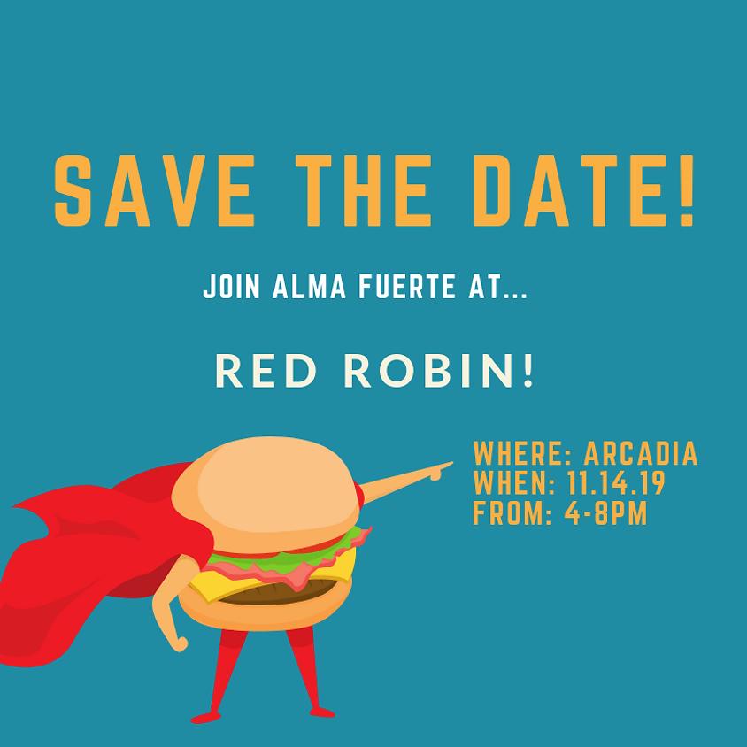 Alma Fuerte Night at Red Robin
