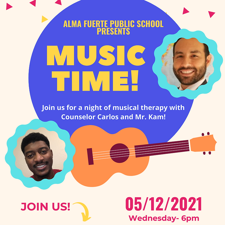 Music Therapy Time with Mr. Perales and Mr. Kam