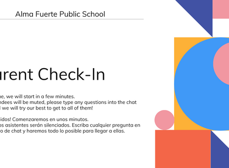Alma Fuerte Parent Check In