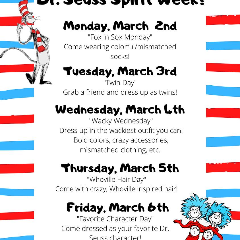 Dr. Seuss Spirit Week!
