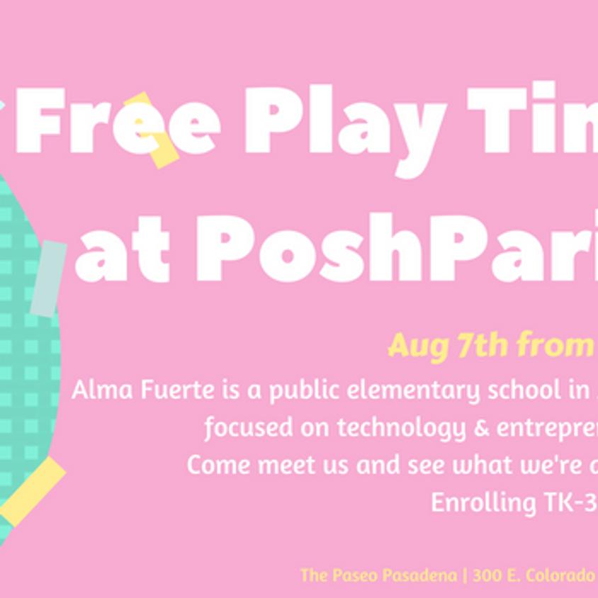 Free Playtime at Posh Paris!