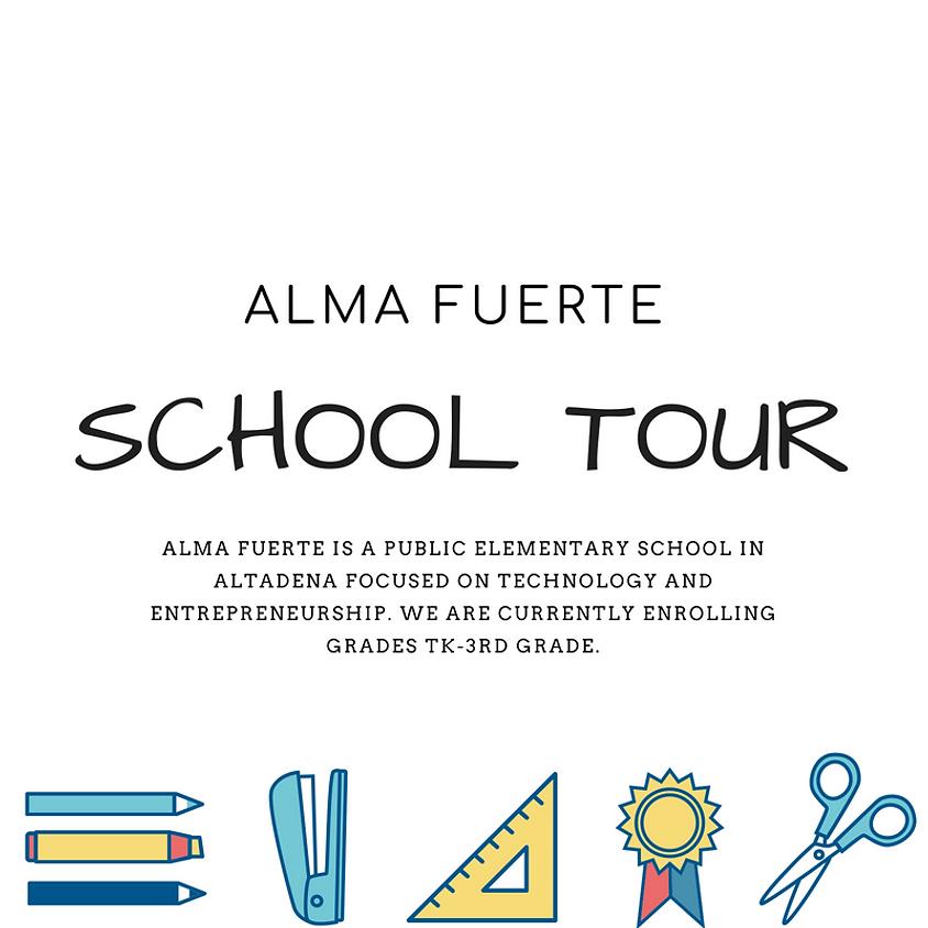 Alma Fuerte School Tour