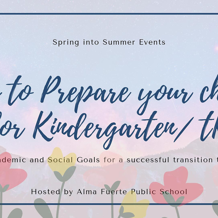 Prepare your Child for Kinder/ TK!