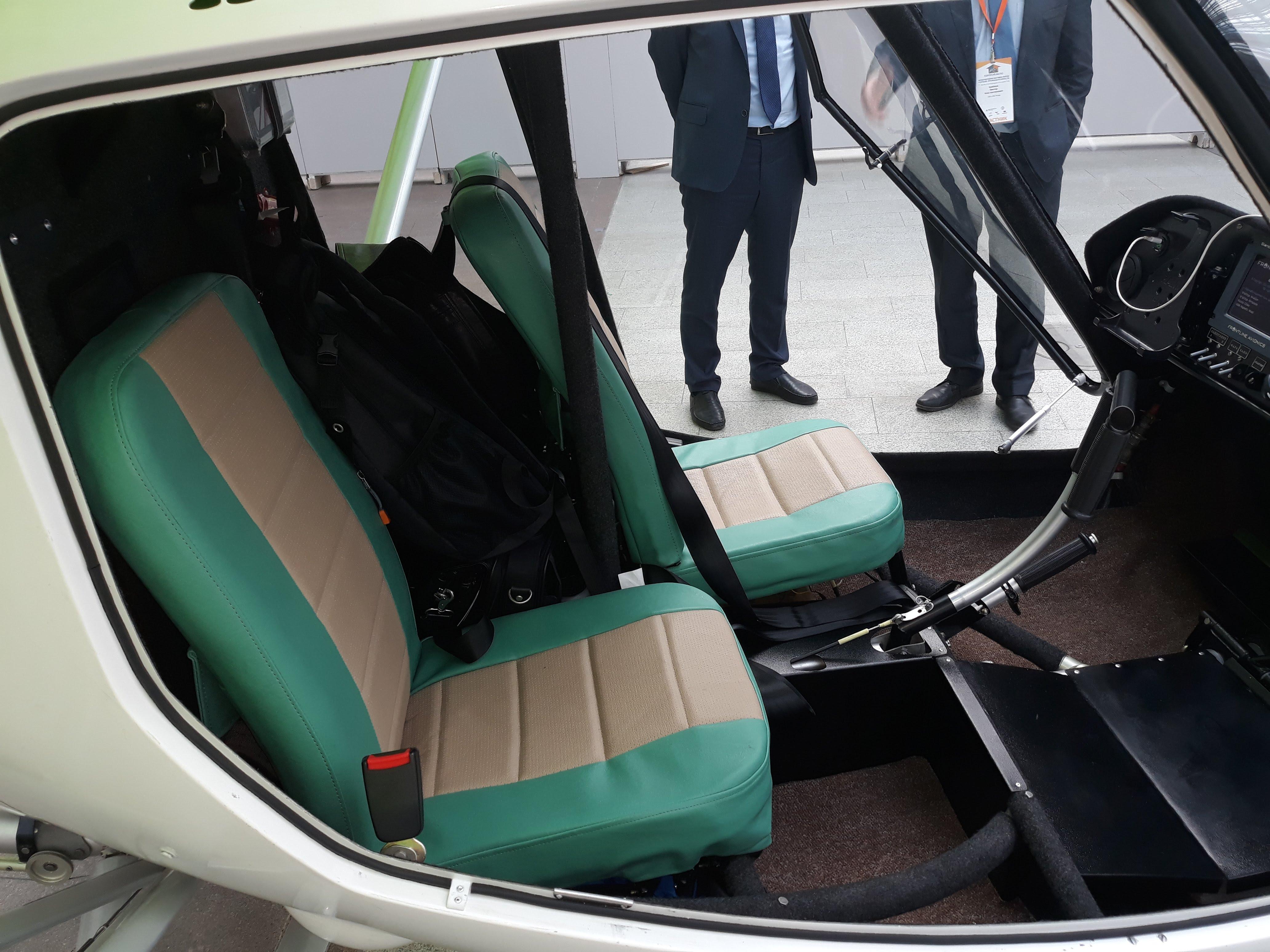 Ультралёгкий самолет Птенец-3 сиденья