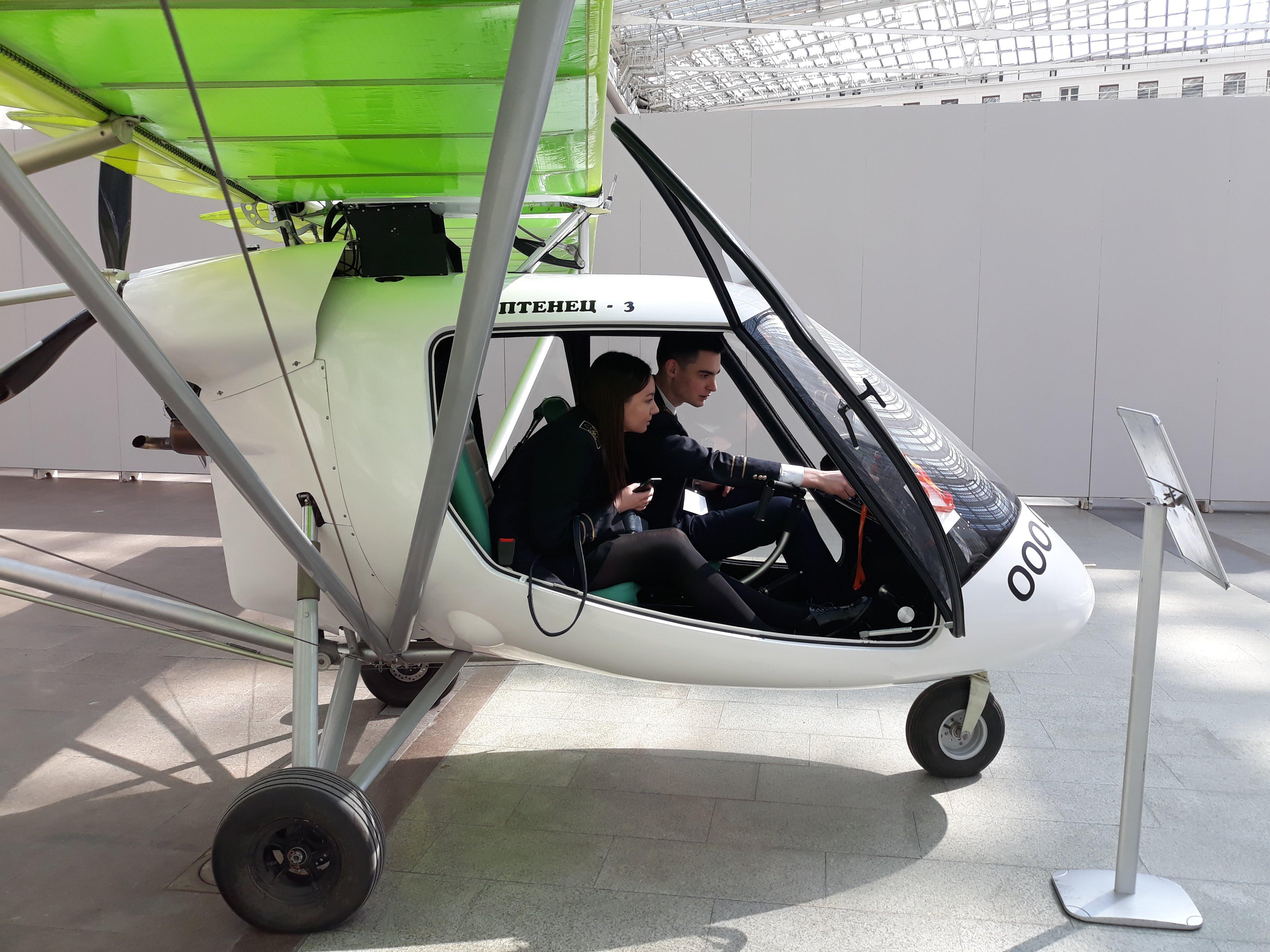 Будущие пилоты Птенца-3