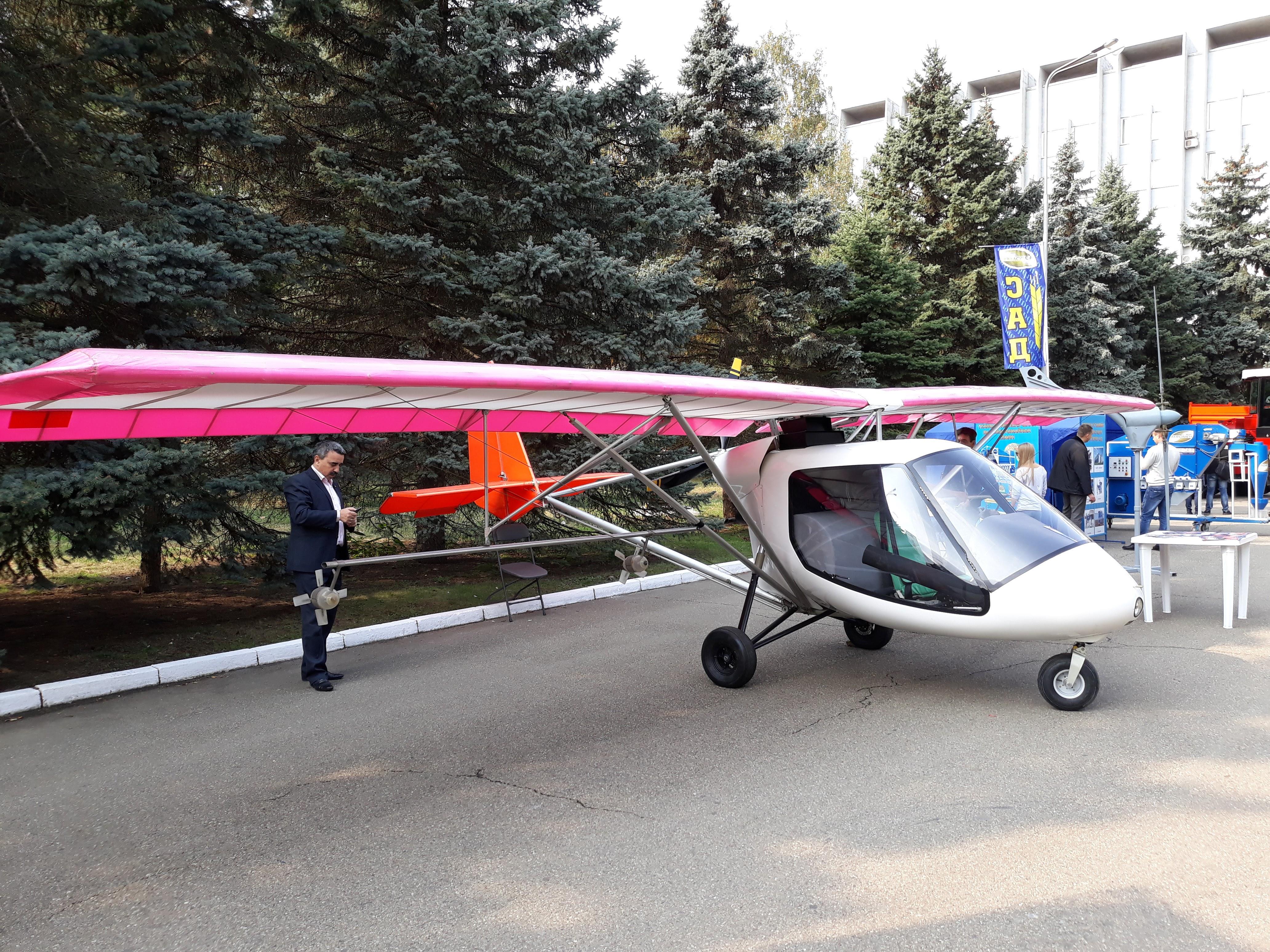 Птенец-3 на выставке