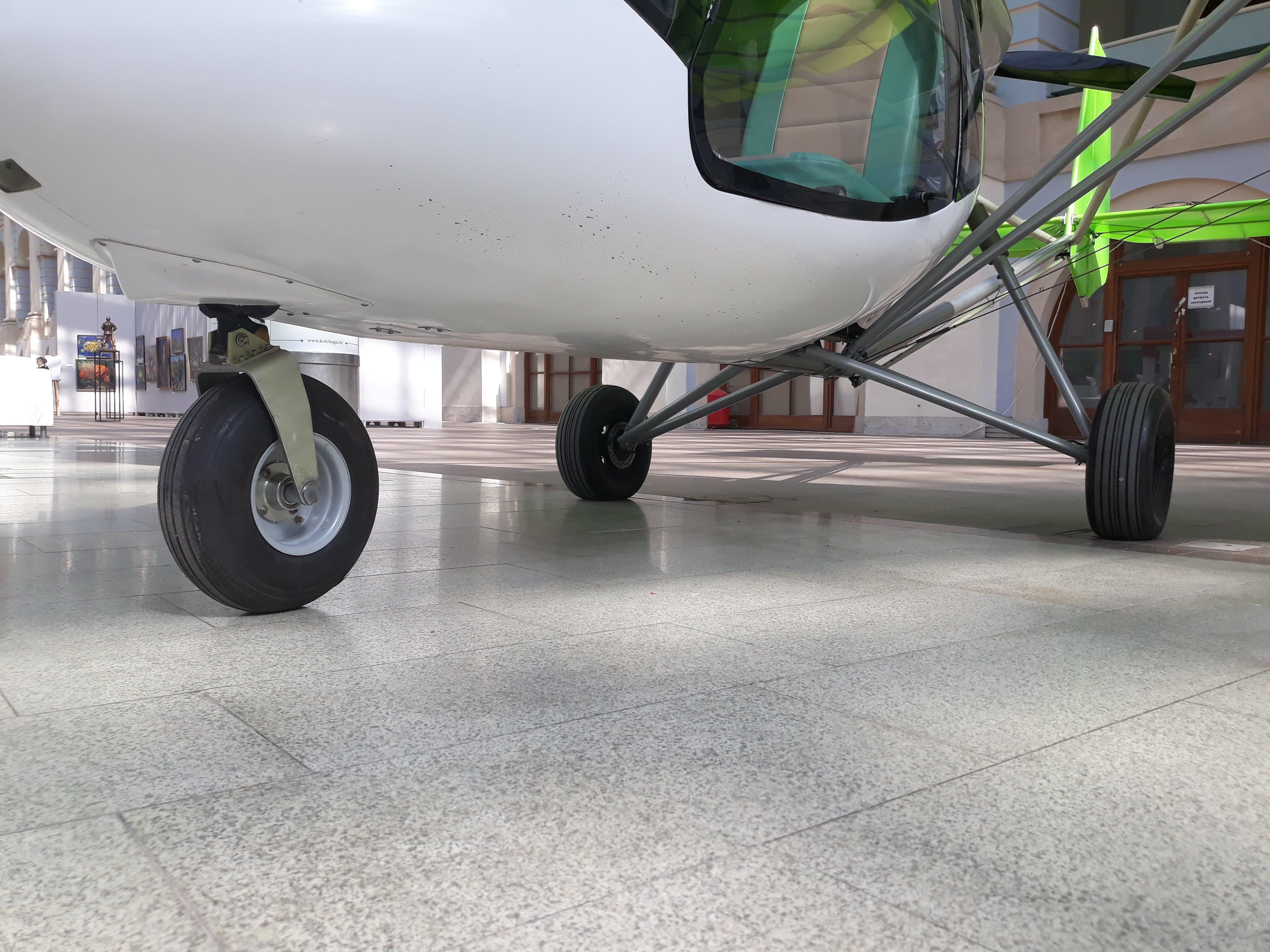 Ультралёгкий самолёт Птенец-3 шасси