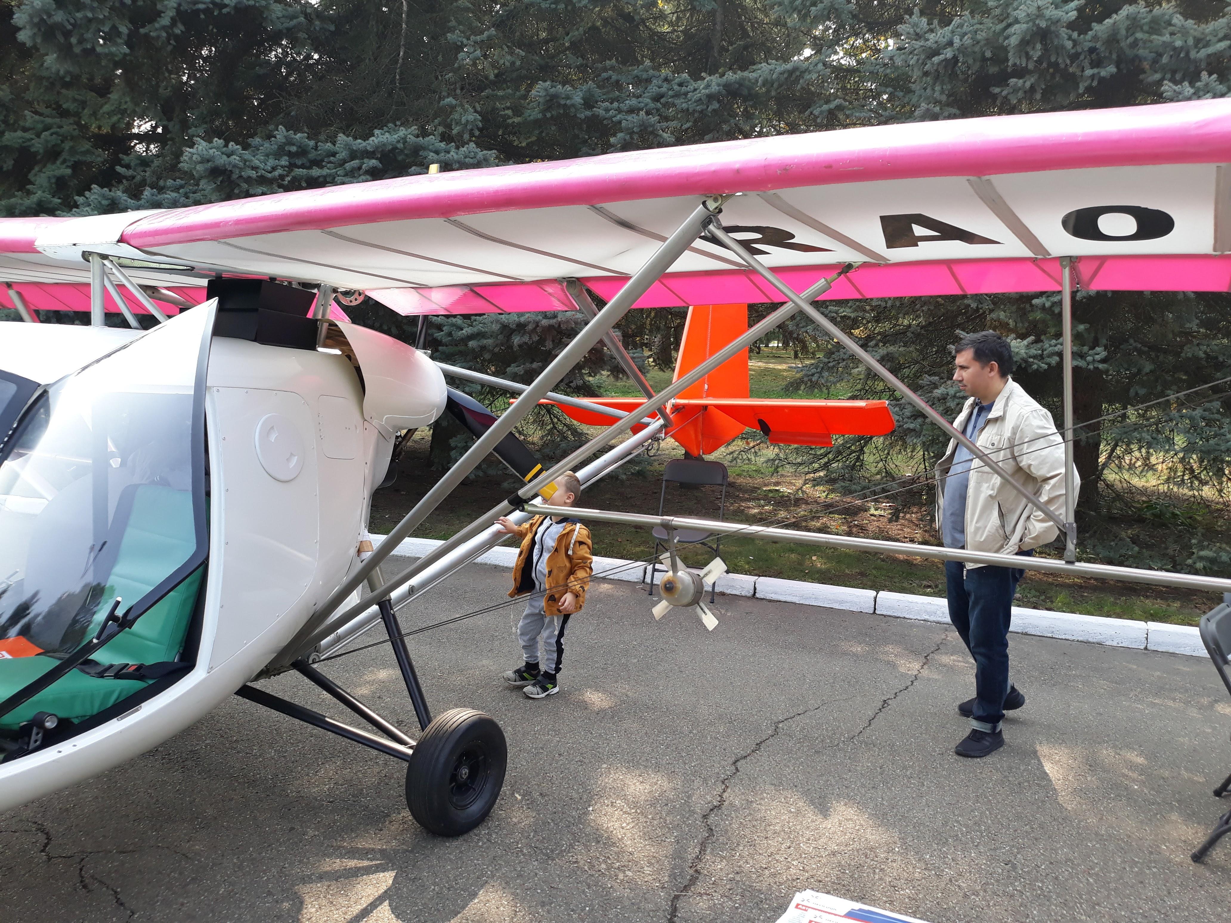 Самолёт Птенец-3 в Краснодаре