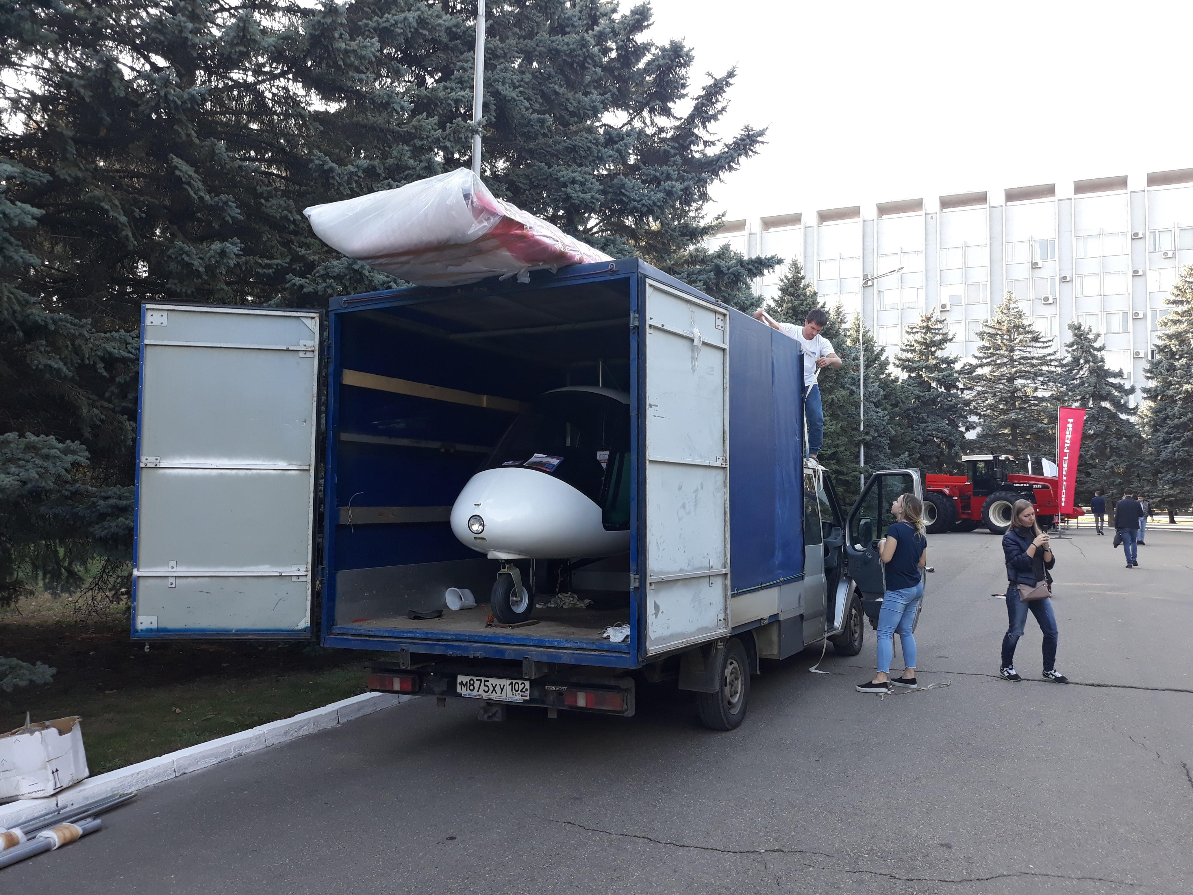 Птенец-3 транспортировка