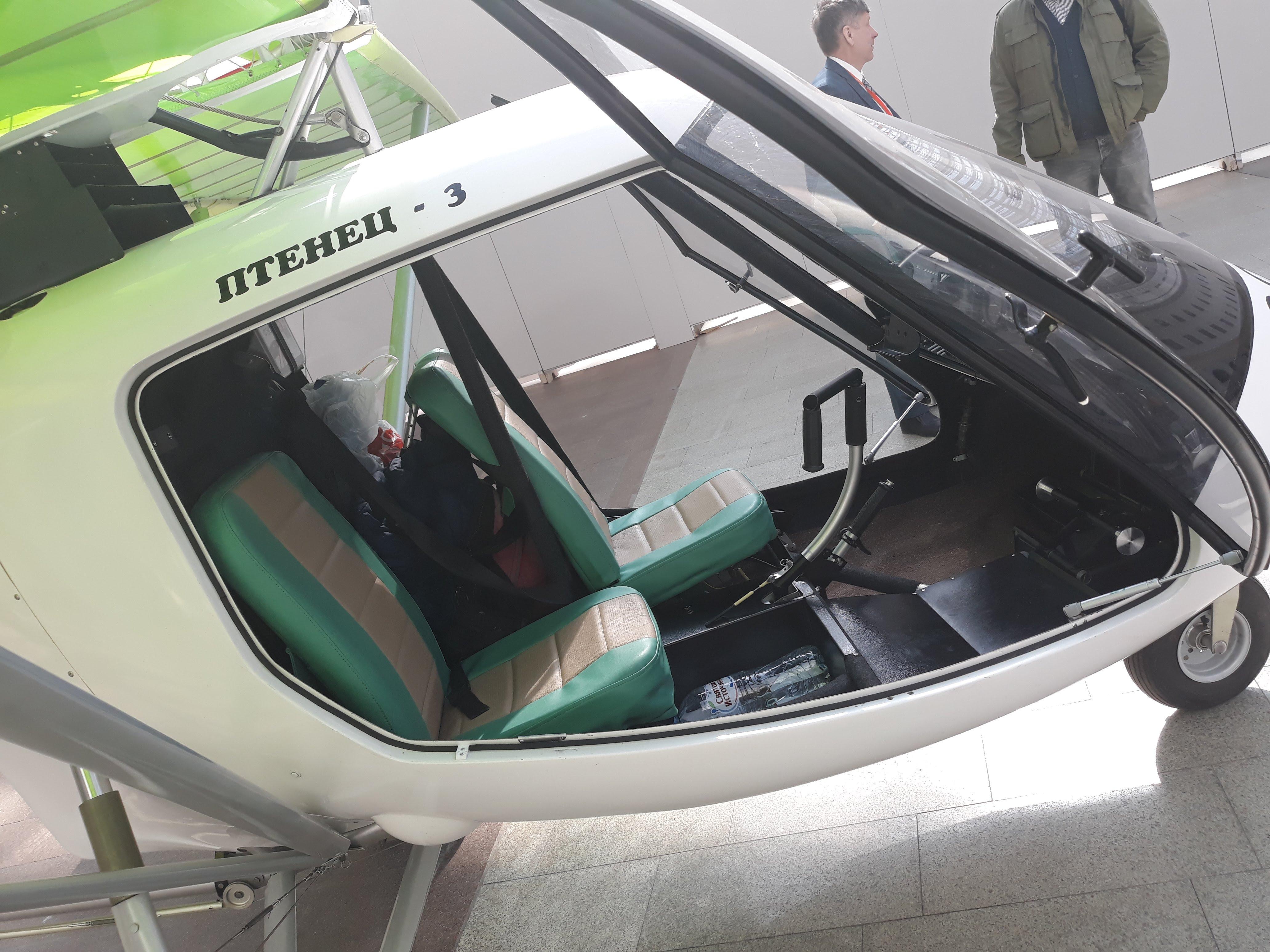 Салон самолёта Птенец-3