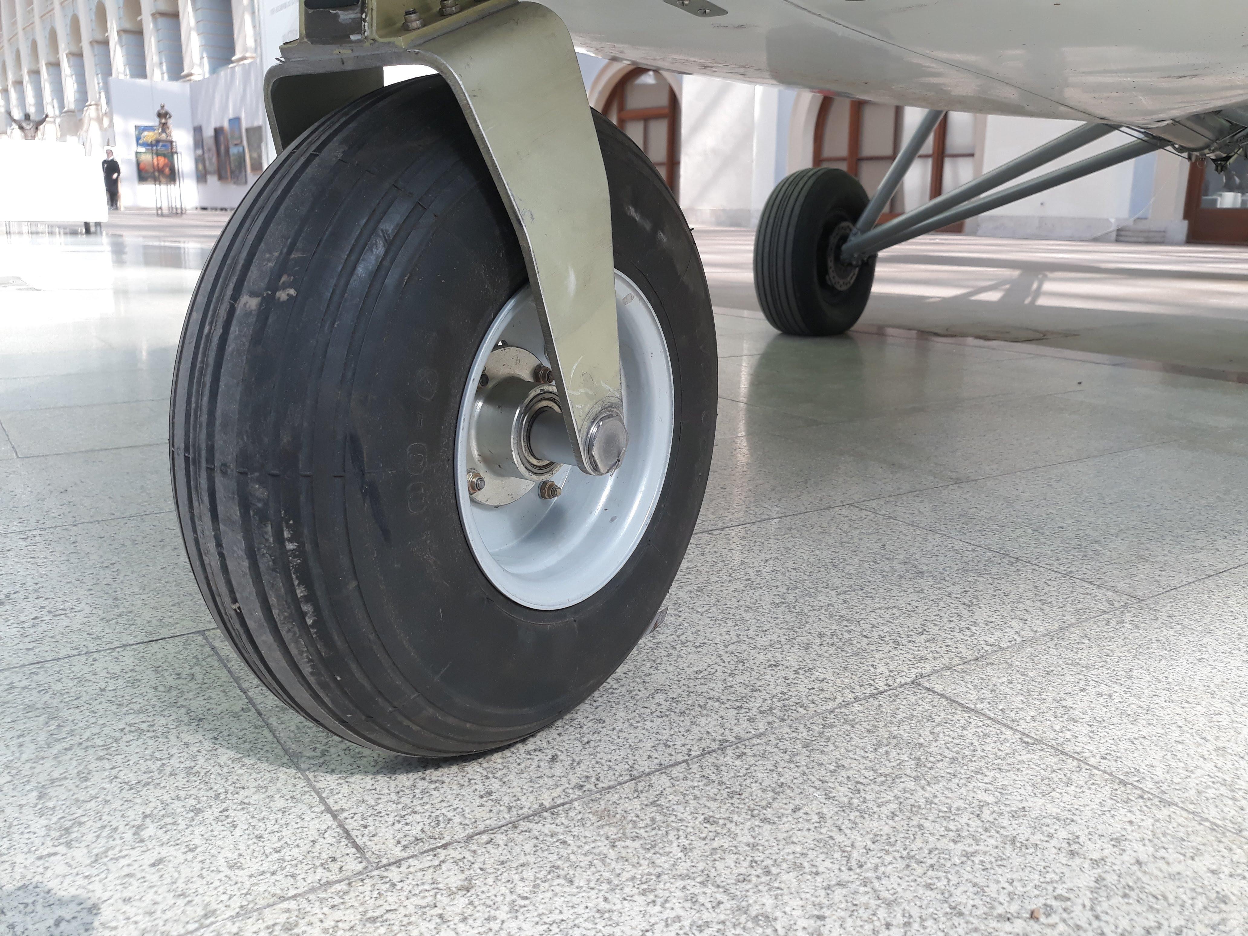 Переднее колесо Птенца-3
