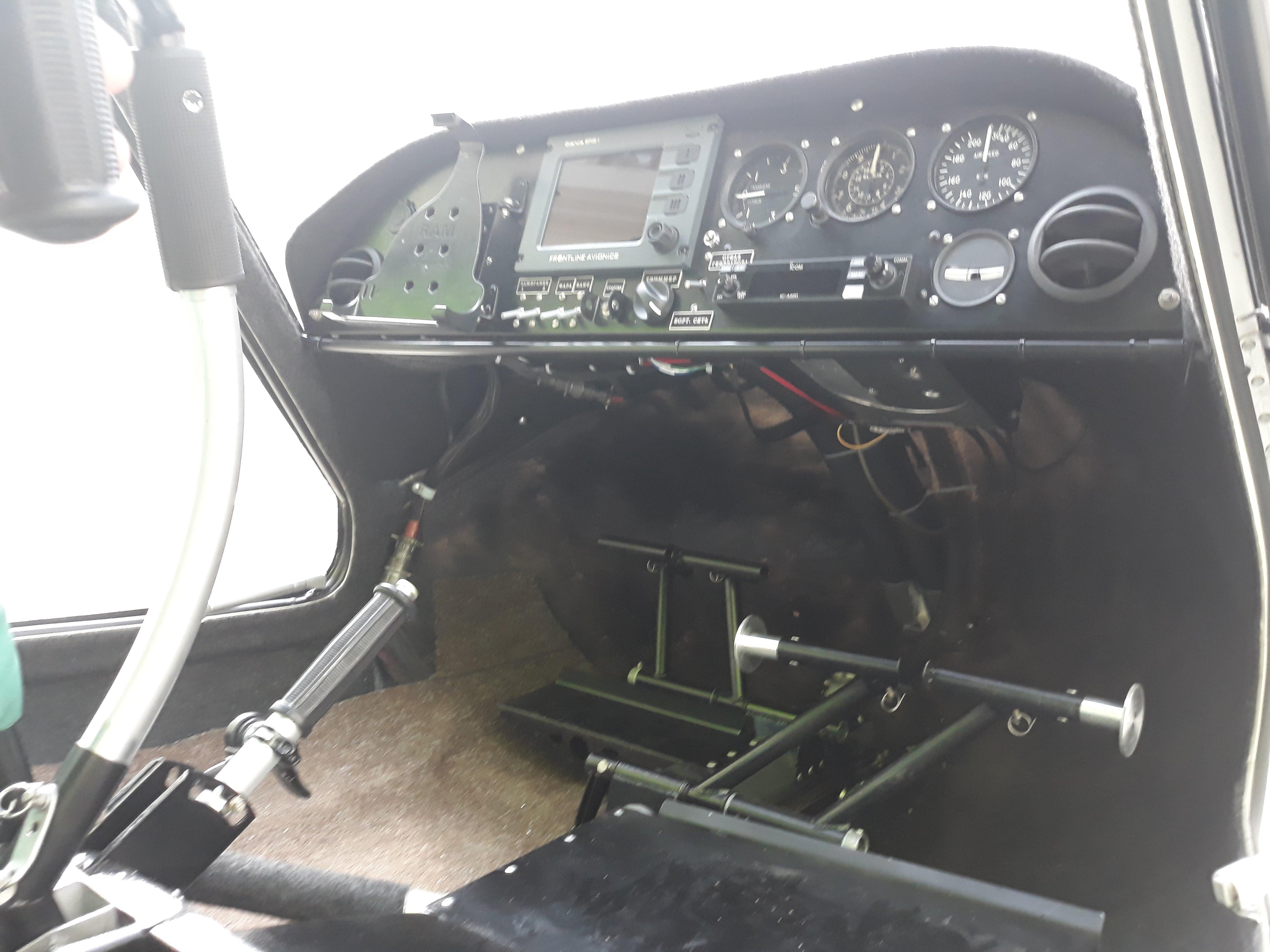 Самолёт Птенец-3 органы управления