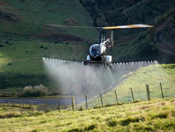 Агросистема для авиационно-химических работ