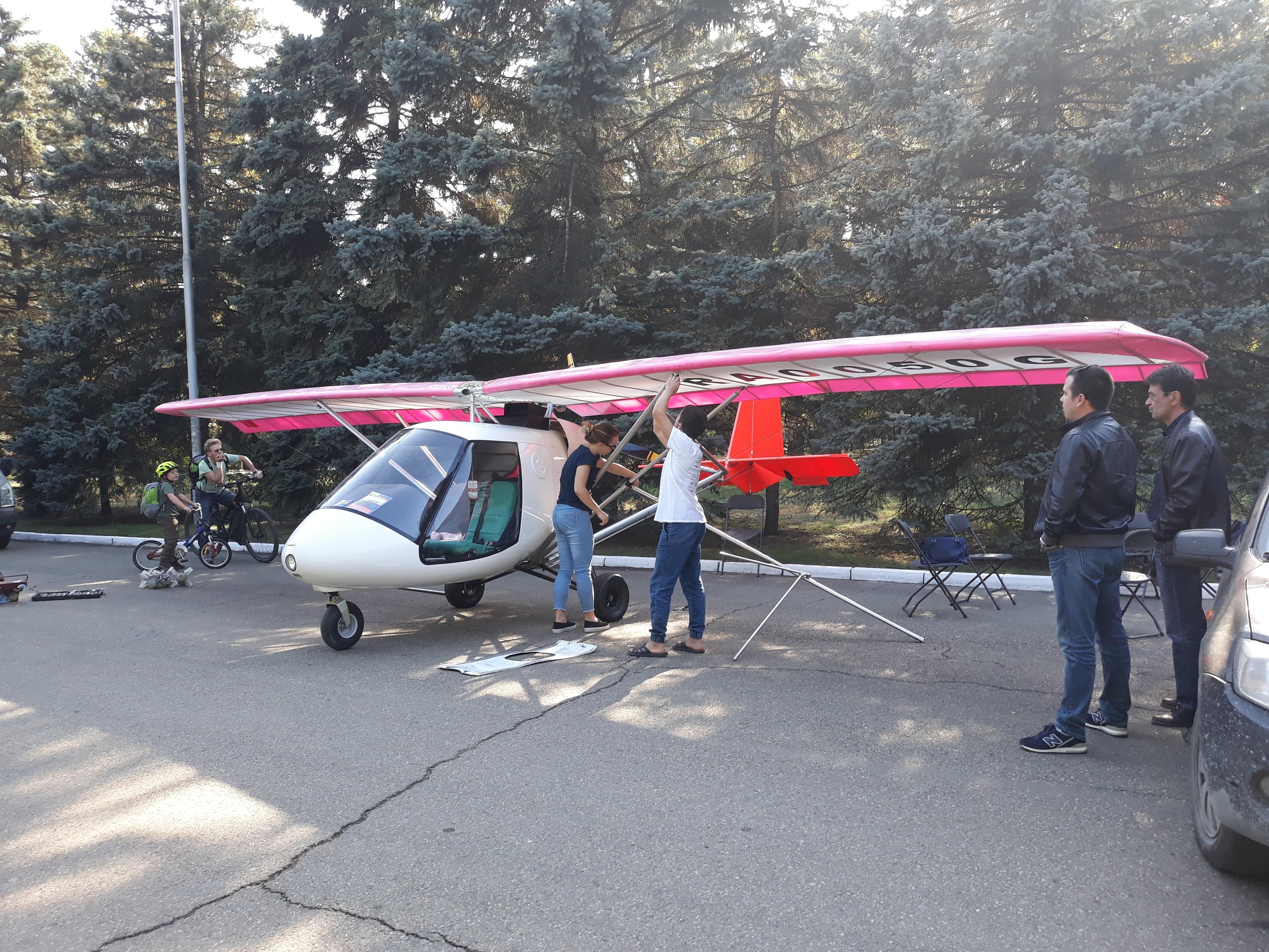 Разборка Самолёта Птенец-3