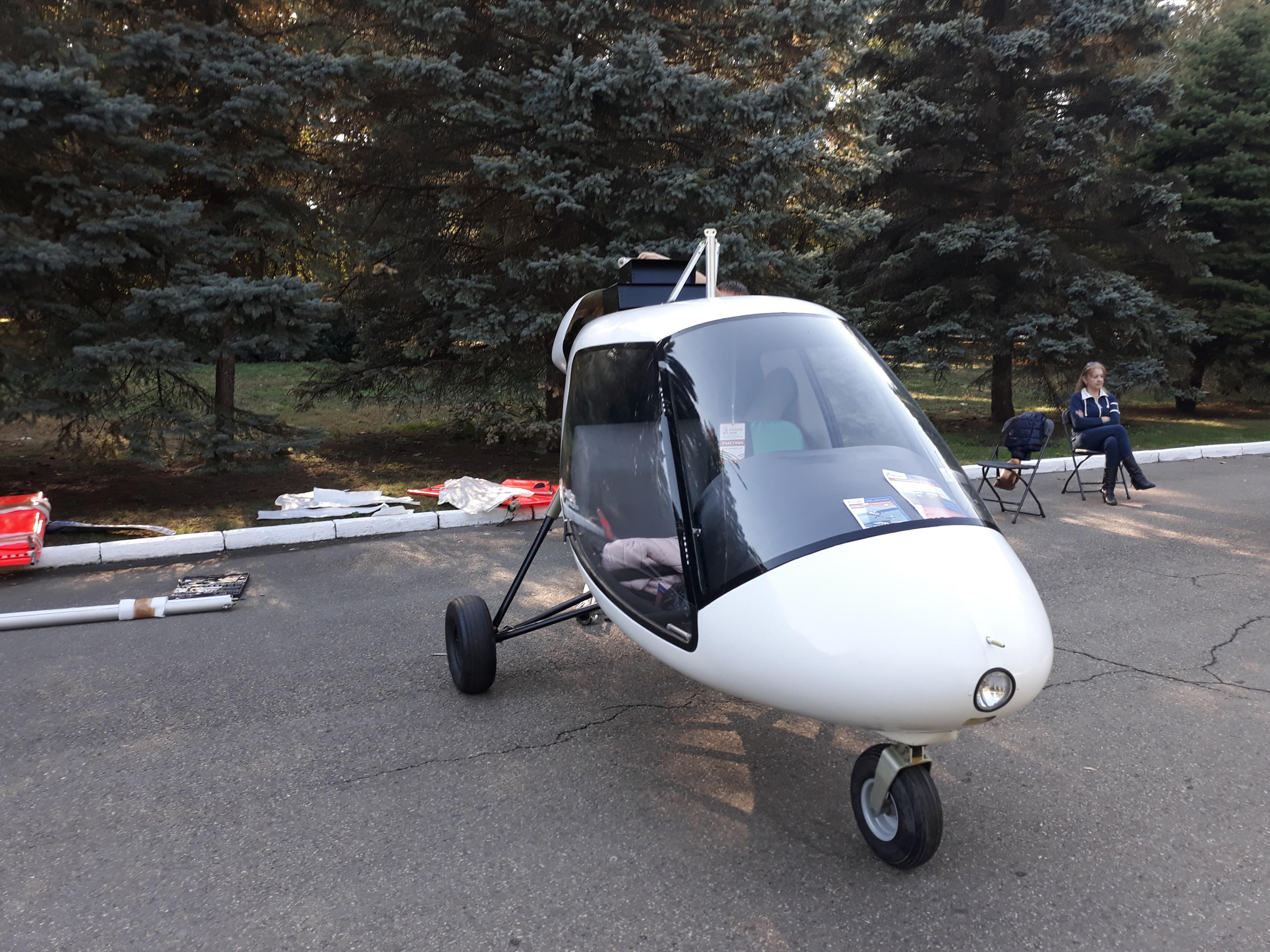 Самолёт Птенец-3 разобран