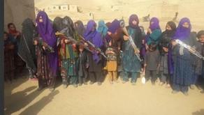 अफगानिस्तान में महिलाओं ने पढ़ने के लिए उठाए हथियार