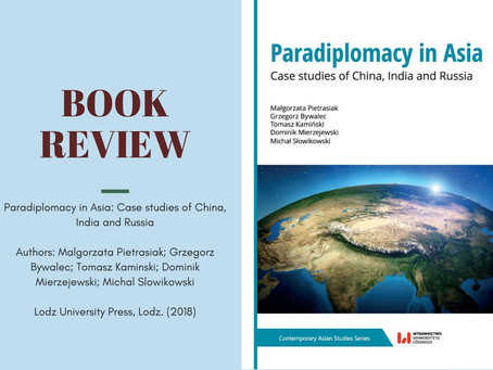 Exploring the landscape of subnational diplomacy through 'paradiplomacy'