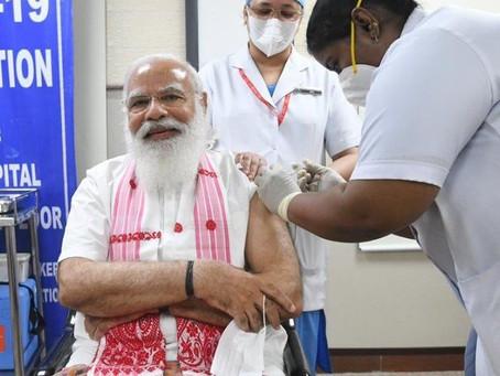 Tackling Covid-19 the Modi way with compassion, partnership, leadership