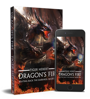 Dragon's Fire, by fantasy author Tiger Hebert