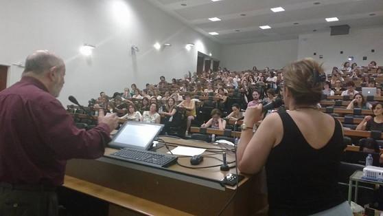 Conferência de Alfredo Jerusalinsky no V Seminário.
