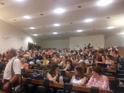 Auditório no IV Seminário, em 2015.