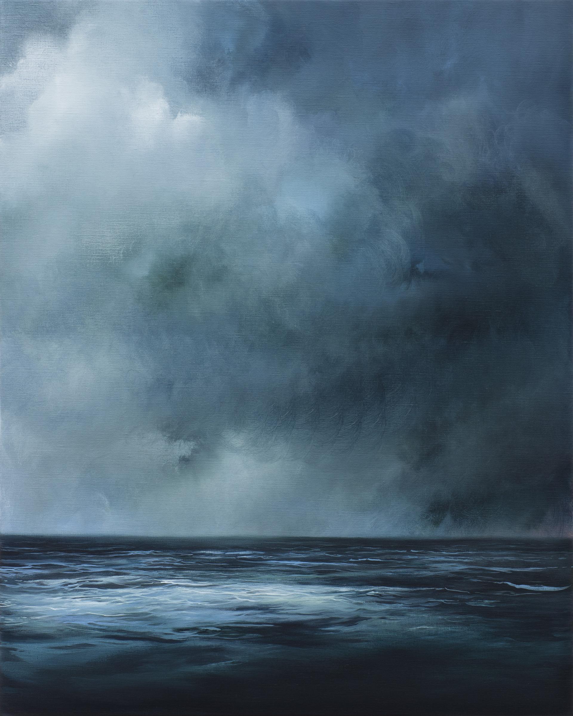 unchartered territory | acrylic on belgian linen , 102cm x 82cm | sold