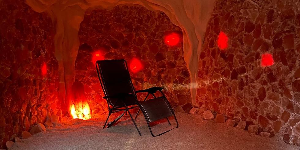 Mini Meditations at the Louisville Salt Cave
