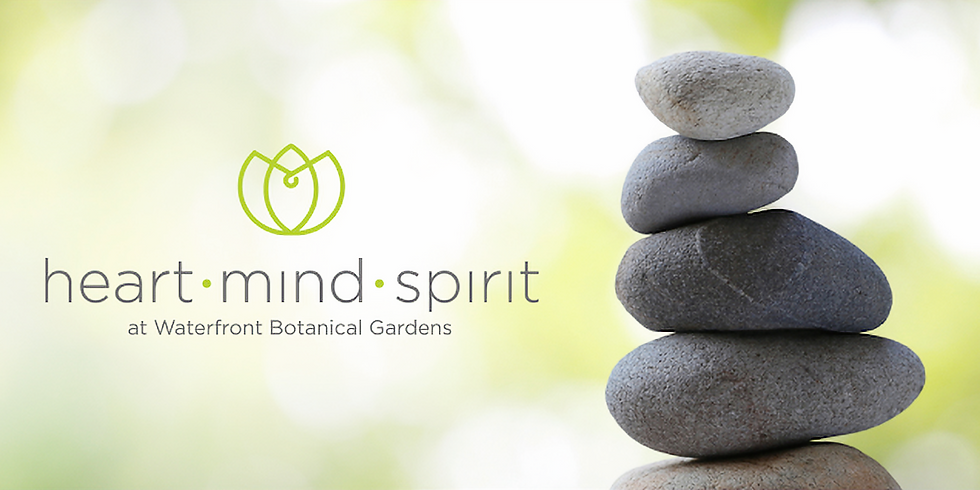 Mindfulness in Nature at Waterfront Botanical Gardens